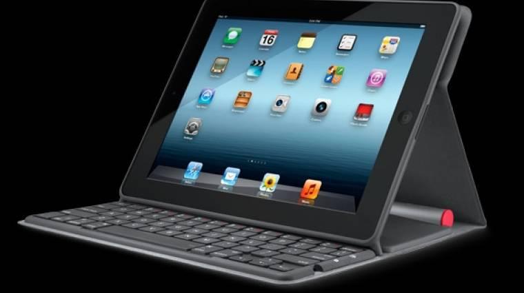 Napelemes Logitech iPad billentyűzet kép