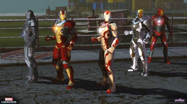 Leáll a Marvel Heroes bevezetőkép