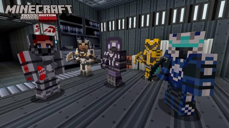 Minecraft - Mass Effect témájú DLC érkezik bevezetőkép