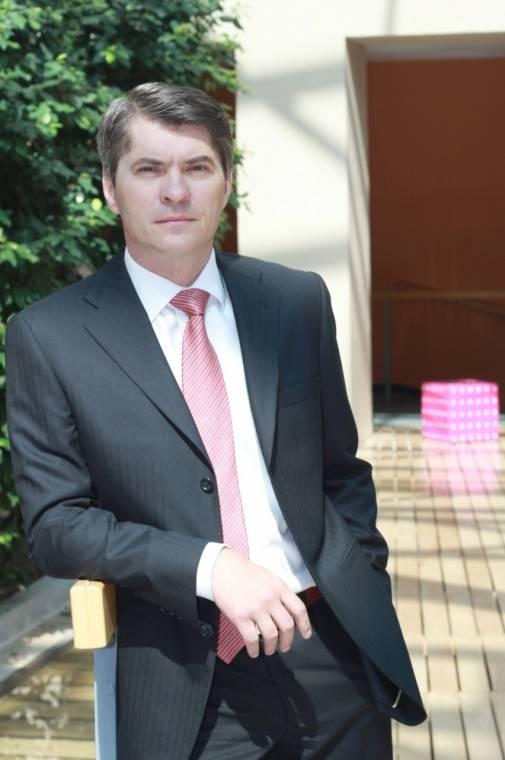 Budafoki Róbert, a T-Systems Magyarország vezérigazgatója, a Magyar Telekom vezérigazgató-helyettese