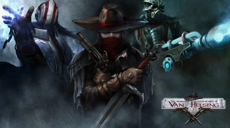 The Incredible Adventures of Van Helsing - PS4-re és PS4 Próra is megjelenik bevezetőkép