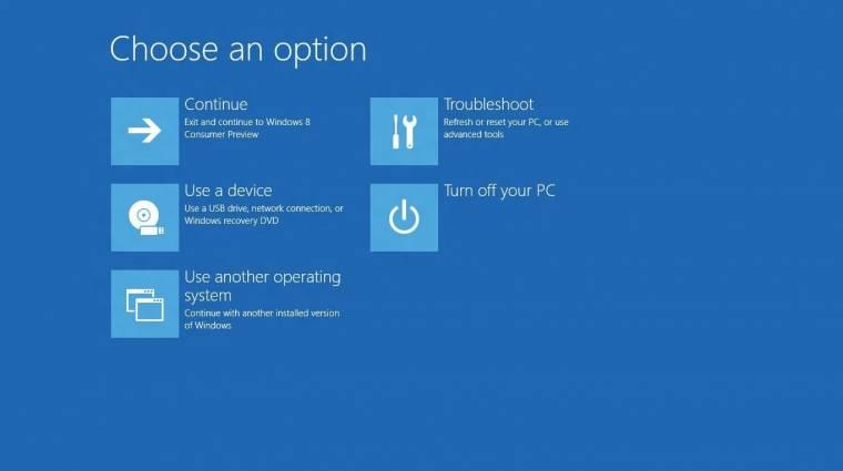 A Windows 8-cal vége az