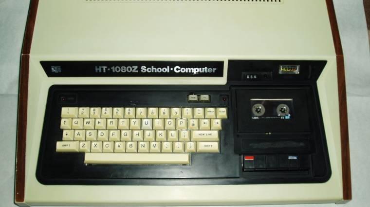 Magyarországon világhírű háziszámítógépek - HT-1080Z bevezetőkép