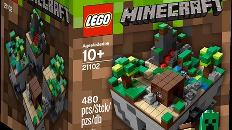 Itt van, megérkezett a hivatalos LEGO Minecraft set, a 21102 bevezetőkép