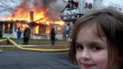 Egy vagyont keresett fényképével a Disaster Girl mém kislánya kép
