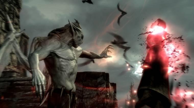 Skyrim: Dawnguard - 20 perc játékmenet videó bevezetőkép