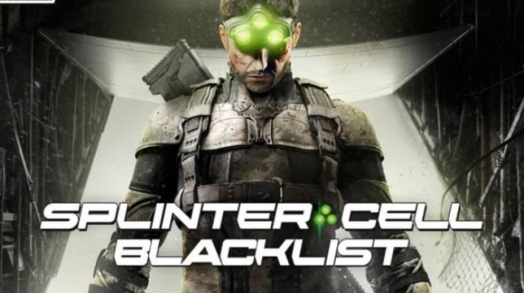 Splinter Cell: Blacklist - co-op mód trailer és új képek bevezetőkép