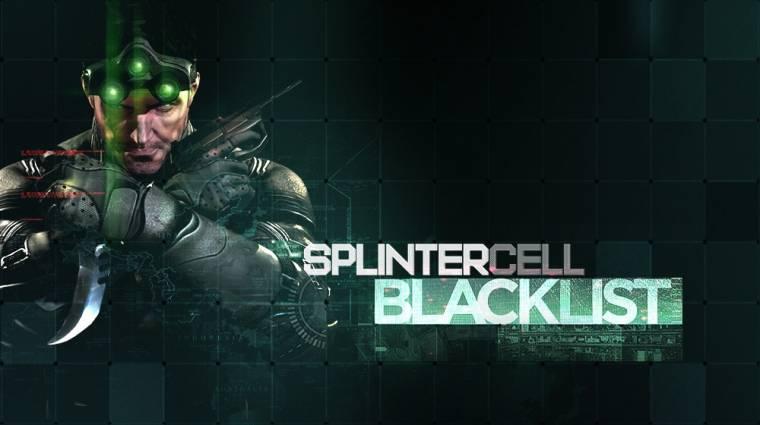 E3 2013 - Splinter Cell: Blacklist gameplay trailer bevezetőkép