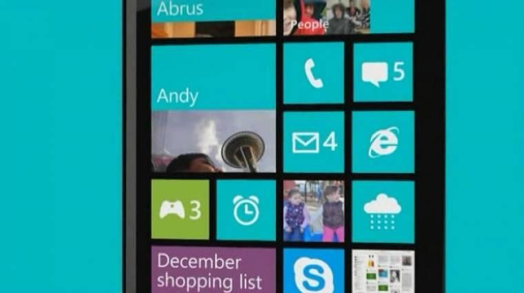 Az iPhone ellen indul a Windows Phone 8 kép