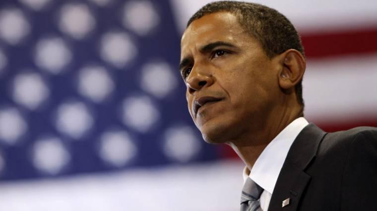 Obama kibertámadásoktól retteg kép