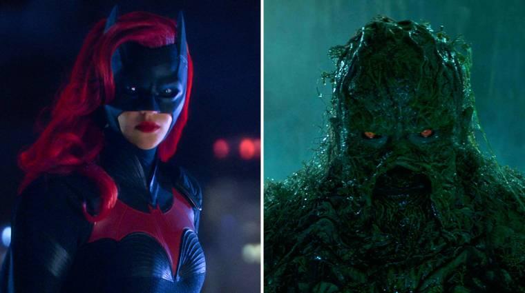 Magyarul is láthatjuk majd a Batwoman és Swamp Thing sorozatokat kép