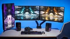 Friss monitorokat mutatott be a Samsung - az egyik az újgenerációs konzolokhoz is remekül passzolhat kép