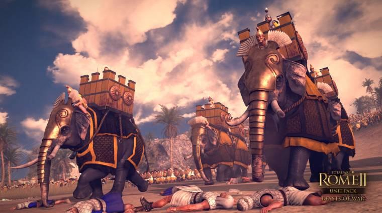Total War: Rome 2 - gyilkos tevék a Beasts of War DLC-ben bevezetőkép