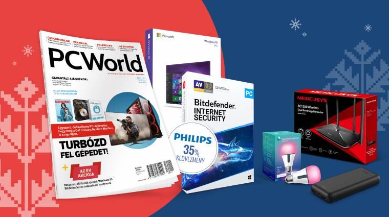 PC World előfizetés TP-Link ajándékokkal kép