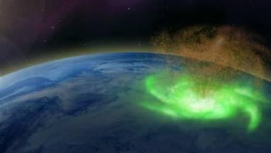 Plazmahurrikán és elektroneső volt az Északi-sark felett kép