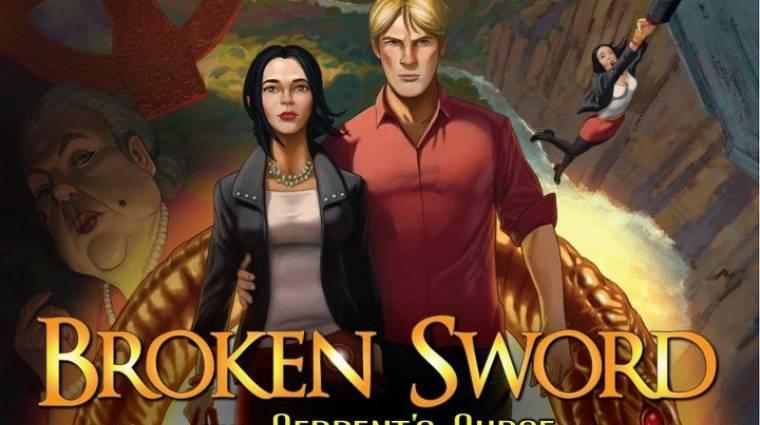 Broken Sword: The Serpent's Curse - Abszolút Kickstarter siker bevezetőkép