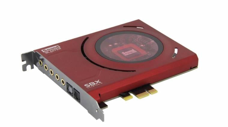 Indul a PC-s nosztalgiavonat: itt az új Sound Blaster Z hangkártya