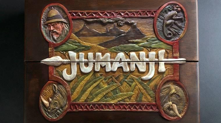 Egy társast sem akarunk annyira a polcunkra, mint ezt a kézzel készült Jumanjit bevezetőkép
