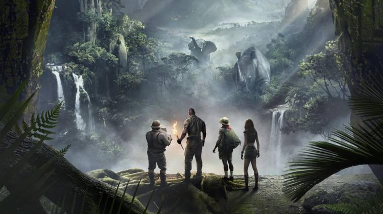 Jumanji: Vár a dzsungel - Rock mesél az eredeti és az új film kapcsolatáról bevezetőkép