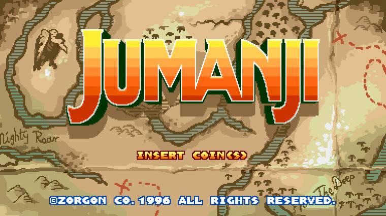 Ilyen lenne a Jumanji: Vár a dzsungel retro videojátékként bevezetőkép