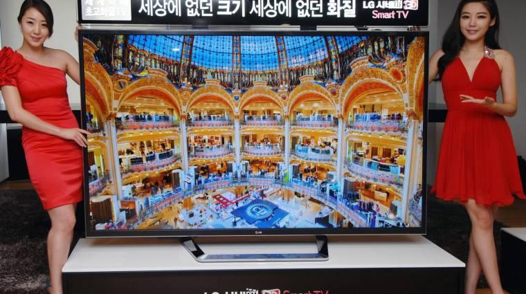 Kétméteres UDTV az LG-től kép