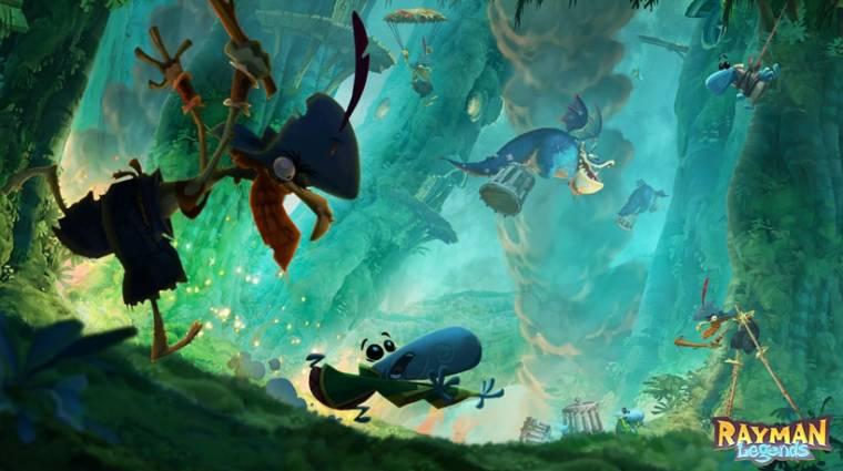 Rayman Legends - kárpótolja a Ubisoft a Wii U tulajdonosokat bevezetőkép