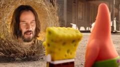 Keanu Reevesszel a SpongyaBob: Spongya szökésben első előzetese is jobb kép