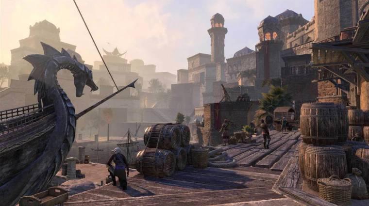 Hamarosan jobb minőségben élvezhetjük a The Elder Scrolls Online kalandjait bevezetőkép
