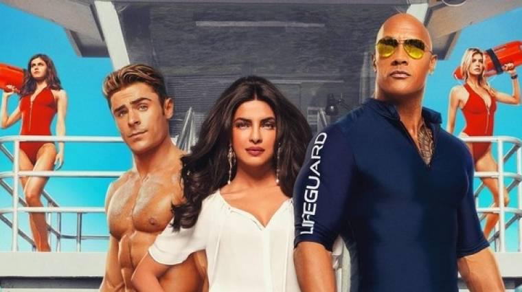 Ez nem a jól ismert Baywatch lesz – korhatáros trailerrel hajráz a Paramount kép