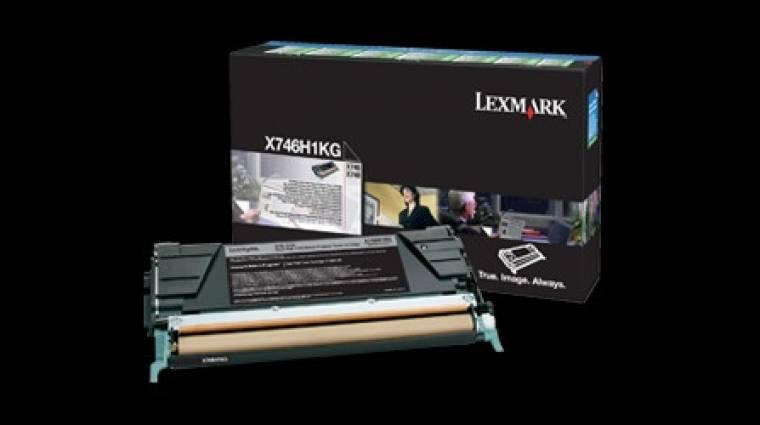 Lexmark: okosnyomtatók biztonságos merevlemez törléssel kép