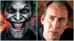 Nicolas Cage szerint jó Joker lehetne belőle kép