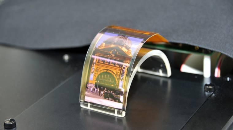 Sharp IGZO - nagyobb felbontású, kevesebbet fogyasztó érintőkijelzők jönnek kép