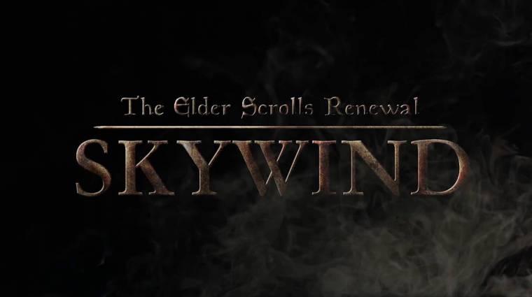 Negyedórás videón a rajongók által felújított Morrowind bevezetőkép