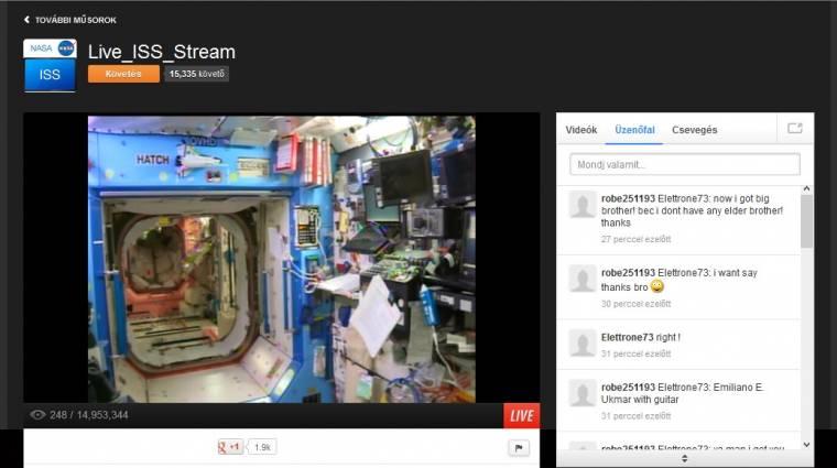 Nagyon megy a Ustream szekere kép