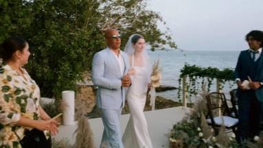 Vin Diesel vezette oltárhoz Paul Walker lányát kép
