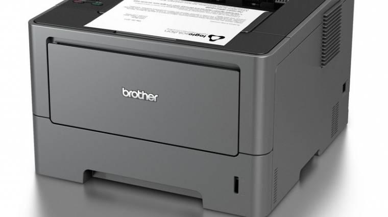 Brother mono lézerprinterek a zugnyomtatás ellen kép