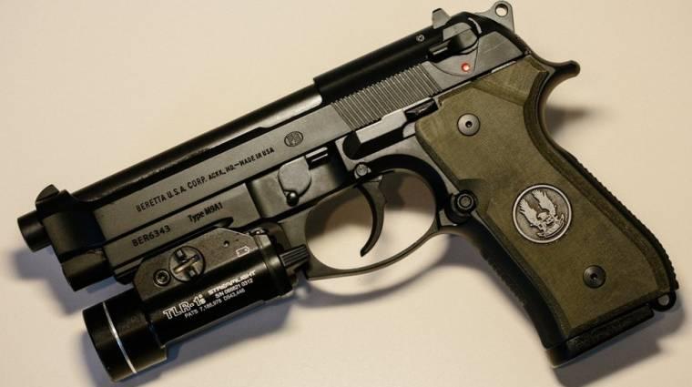 Halo markolatú Beretta - fegyver gamereknek bevezetőkép