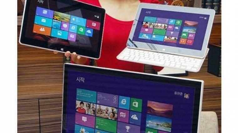Windows 8-as táblagéppel újított az LG kép