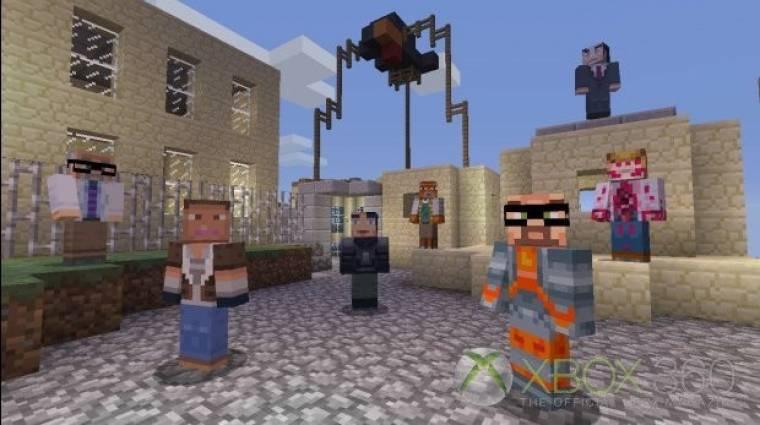 Gordon Freeman a Minecraftben! bevezetőkép
