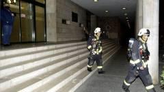 Milliós kár keletkezett az Országgyűlés Hivatalának szerverszobájában kép