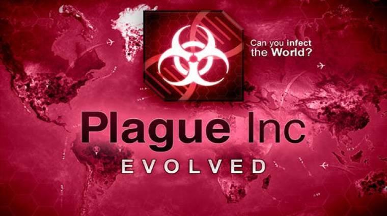 Kínában betiltották a Plague Inc.-et bevezetőkép