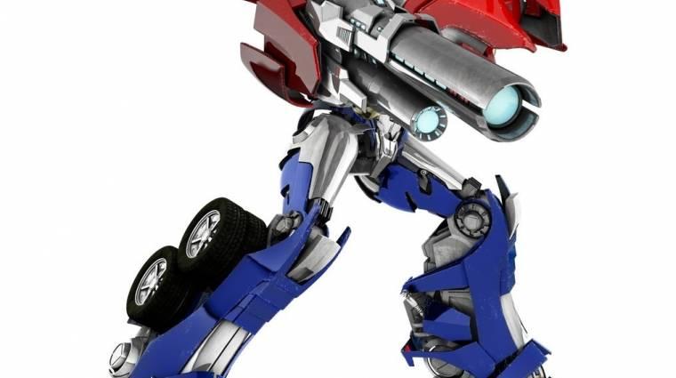 Megjelent a Transformers: Prime - The Game bevezetőkép