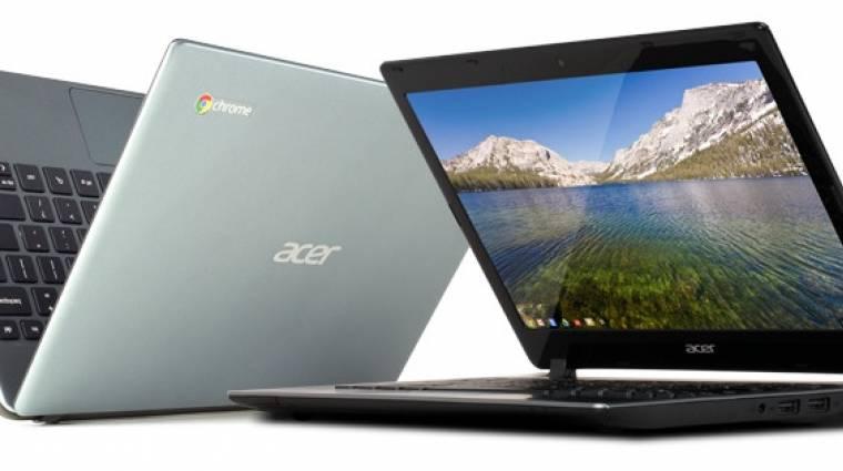 Megérkeztek Európába a Chromebookok! kép