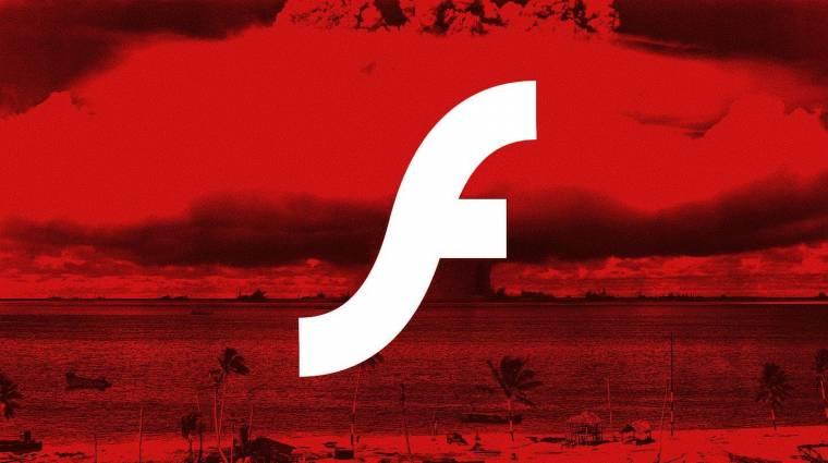A Microsoft is eltakarítja az Adobe Flash Playert kép