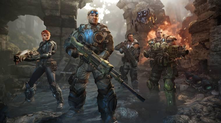 Gears of War - ha szeretnénk, Xbox One-ra is lesz bevezetőkép