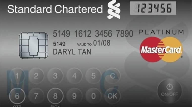 Gombsor és kijelző is került az új MasterCardba kép