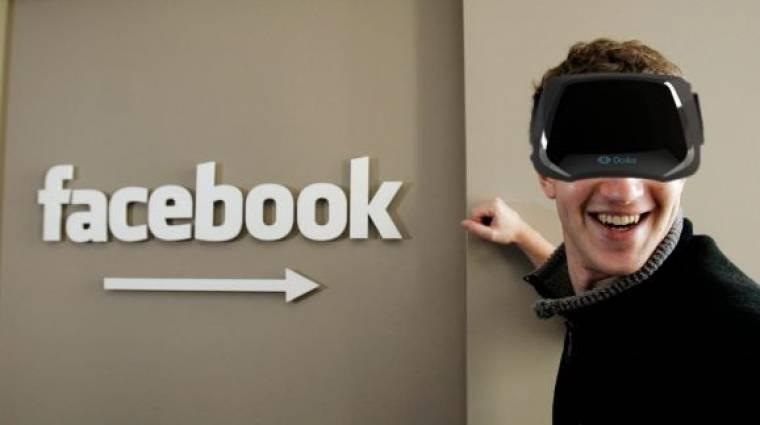 Oculus Rift - a Facebook tulajdonosa szerint a virtuális valóság a jövő bevezetőkép