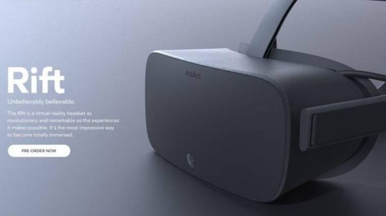 Oculus Rift - képek szivárogtak ki, de állítólag elavultak bevezetőkép