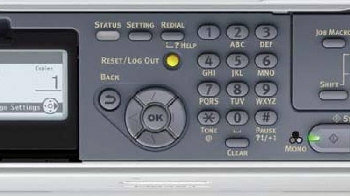 OKI MB471w teszt kép