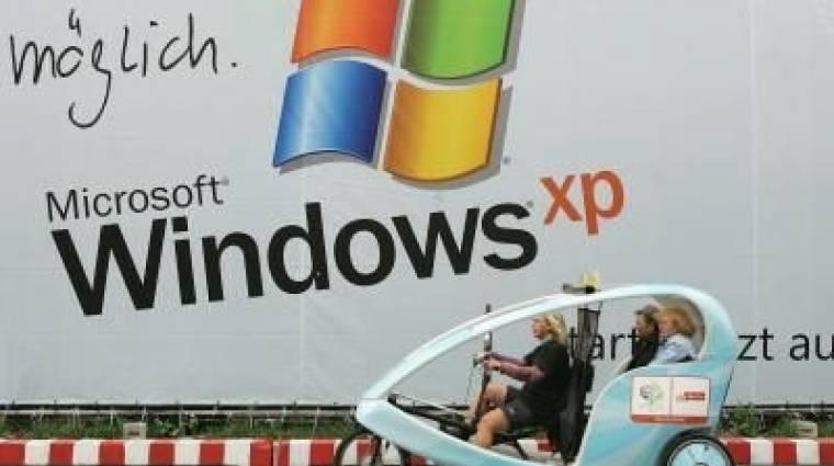 """A Windows XP """"időzített bomba"""" kép"""